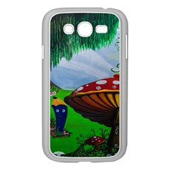 Kindergarten Painting Wall Colorful Samsung Galaxy Grand DUOS I9082 Case (White)