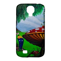 Kindergarten Painting Wall Colorful Samsung Galaxy S4 Classic Hardshell Case (PC+Silicone)