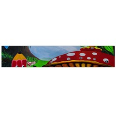 Kindergarten Painting Wall Colorful Flano Scarf (Large)