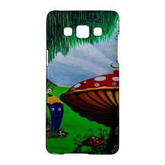 Kindergarten Painting Wall Colorful Samsung Galaxy A5 Hardshell Case