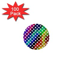 Pattern Template Shiny 1  Mini Buttons (100 pack)