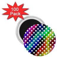 Pattern Template Shiny 1.75  Magnets (100 pack)