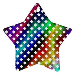 Pattern Template Shiny Star Ornament (Two Sides)