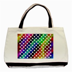 Pattern Template Shiny Basic Tote Bag (Two Sides)