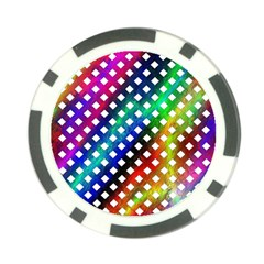 Pattern Template Shiny Poker Chip Card Guard (10 pack)