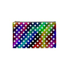 Pattern Template Shiny Cosmetic Bag (Small)