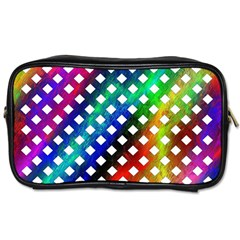 Pattern Template Shiny Toiletries Bags