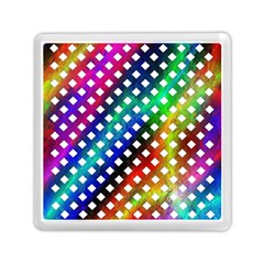 Pattern Template Shiny Memory Card Reader (Square)