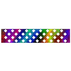 Pattern Template Shiny Flano Scarf (Small)