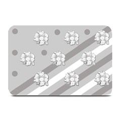 Stripes Pattern Background Design Plate Mats