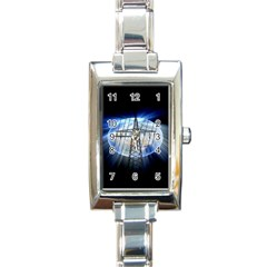Energy Revolution Current Rectangle Italian Charm Watch