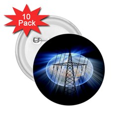 Energy Revolution Current 2.25  Buttons (10 pack)