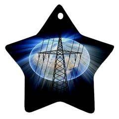 Energy Revolution Current Star Ornament (Two Sides)
