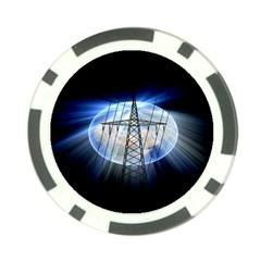 Energy Revolution Current Poker Chip Card Guard