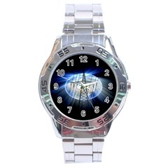 Energy Revolution Current Stainless Steel Analogue Watch