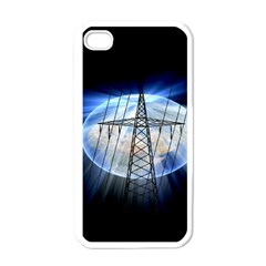 Energy Revolution Current Apple iPhone 4 Case (White)