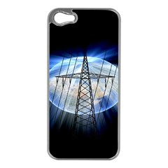 Energy Revolution Current Apple iPhone 5 Case (Silver)