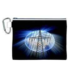 Energy Revolution Current Canvas Cosmetic Bag (L)