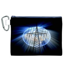 Energy Revolution Current Canvas Cosmetic Bag (XL)