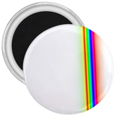 Rainbow Side Background 3  Magnets