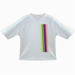 Rainbow Side Background Infant/Toddler T-Shirts