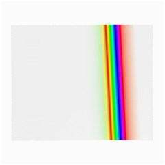 Rainbow Side Background Small Glasses Cloth