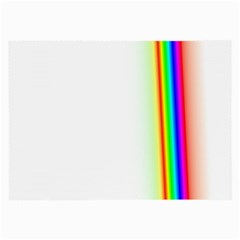 Rainbow Side Background Large Glasses Cloth (2-Side)