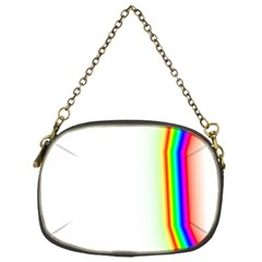 Rainbow Side Background Chain Purses (One Side)