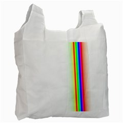 Rainbow Side Background Recycle Bag (two Side)