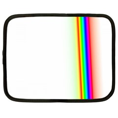 Rainbow Side Background Netbook Case (XXL)