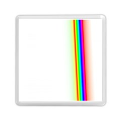 Rainbow Side Background Memory Card Reader (Square)