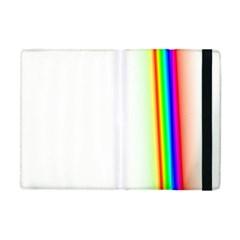 Rainbow Side Background Apple Ipad Mini Flip Case