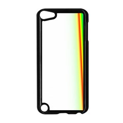 Rainbow Side Background Apple iPod Touch 5 Case (Black)