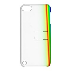 Rainbow Side Background Apple iPod Touch 5 Hardshell Case with Stand