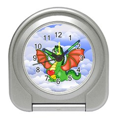 Dragon Heart Kids Love Cute Travel Alarm Clocks