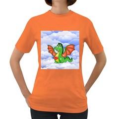 Dragon Heart Kids Love Cute Women s Dark T-Shirt