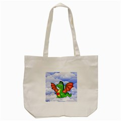 Dragon Heart Kids Love Cute Tote Bag (cream)