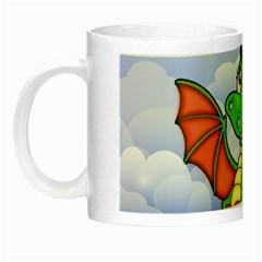 Dragon Heart Kids Love Cute Night Luminous Mugs