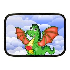 Dragon Heart Kids Love Cute Netbook Case (Medium)