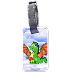 Dragon Heart Kids Love Cute Luggage Tags (One Side)