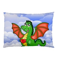 Dragon Heart Kids Love Cute Pillow Case (Two Sides)