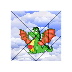 Dragon Heart Kids Love Cute Acrylic Tangram Puzzle (4  x 4 )