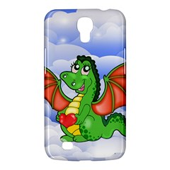 Dragon Heart Kids Love Cute Samsung Galaxy Mega 6 3  I9200 Hardshell Case