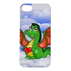 Dragon Heart Kids Love Cute Apple iPhone 5S/ SE Hardshell Case