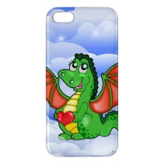 Dragon Heart Kids Love Cute Iphone 5s/ Se Premium Hardshell Case