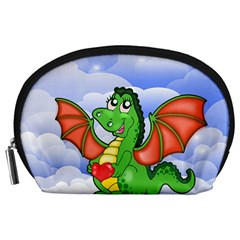 Dragon Heart Kids Love Cute Accessory Pouches (Large)