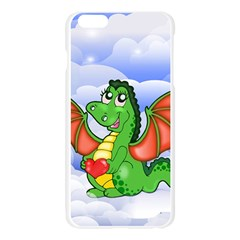 Dragon Heart Kids Love Cute Apple Seamless iPhone 6 Plus/6S Plus Case (Transparent)