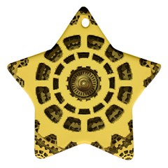 Gears Ornament (Star)