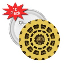 Gears 2.25  Buttons (10 pack)