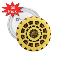 Gears 2.25  Buttons (100 pack)